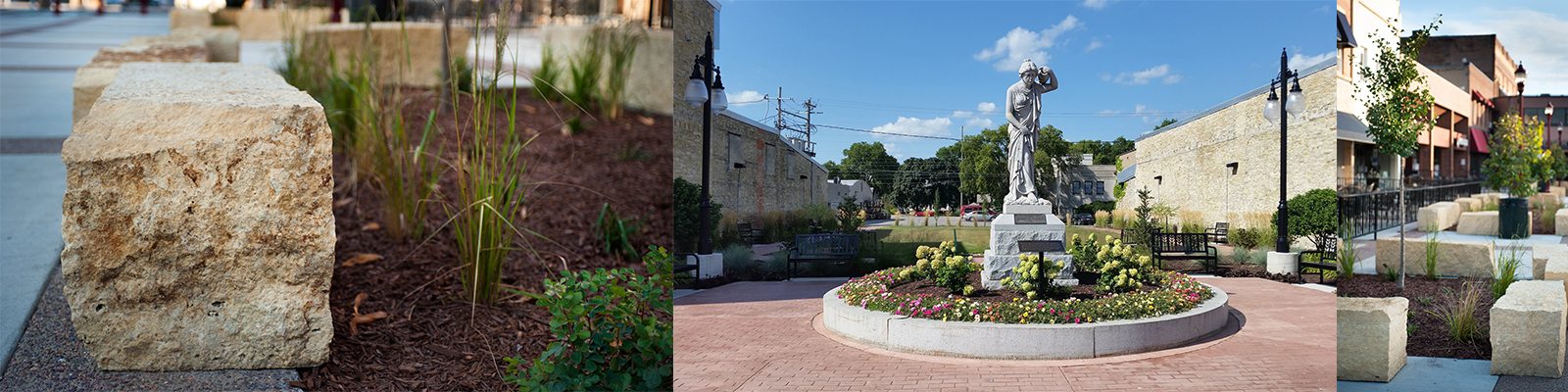 landscaping and placemaking in downtown communities