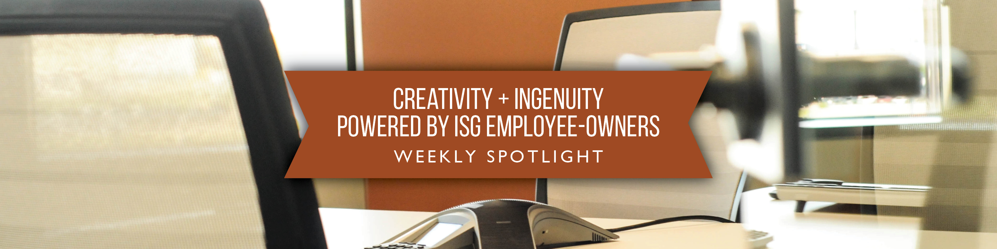 ISG Employee-Owner Spotlight Graphic