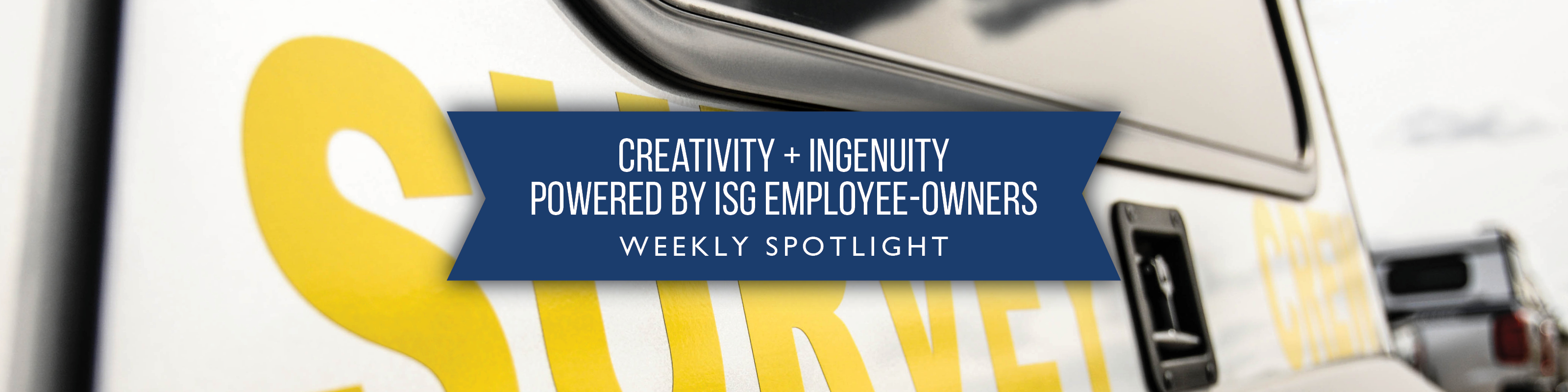 ISG Employee Spotlight graphic