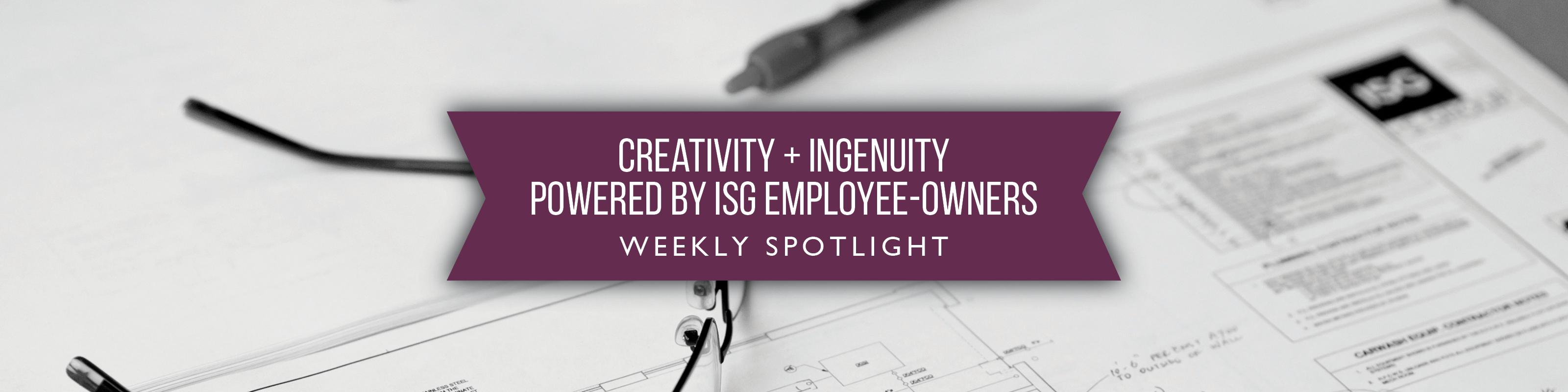 ISG Employee Spotlight banner