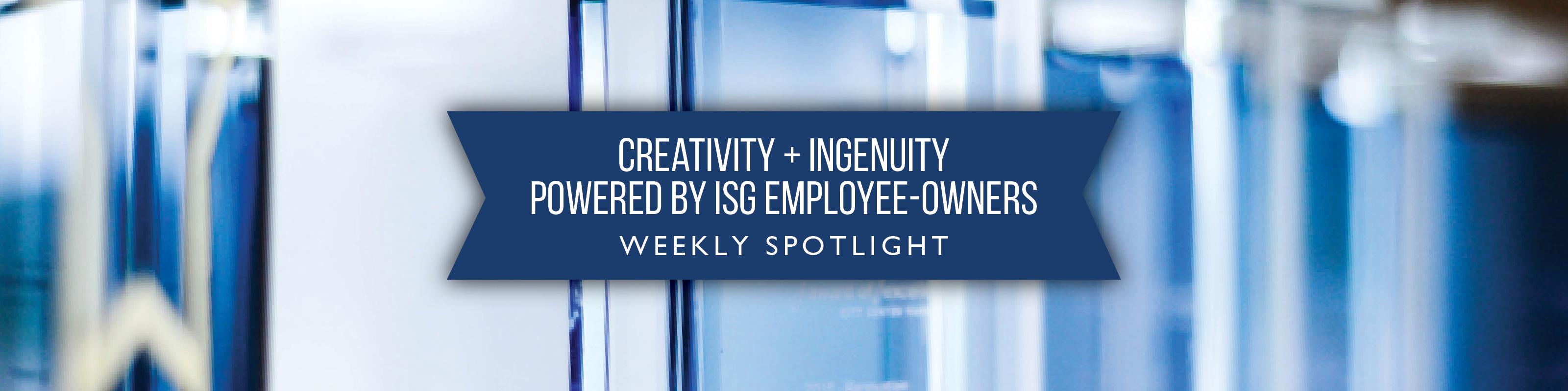 ISG Employee Spotlight