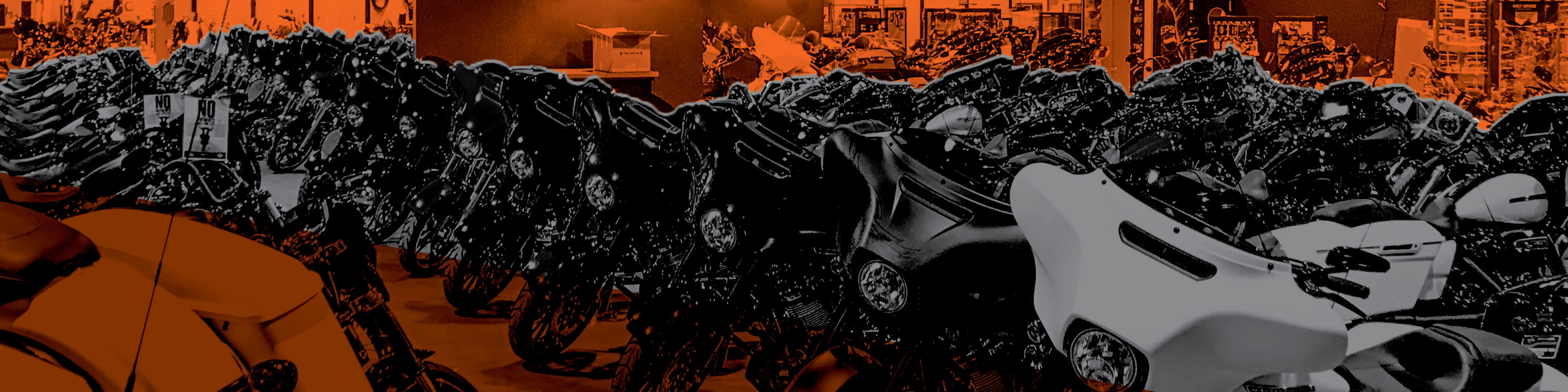 Harley-Davidson motorcycle showroom