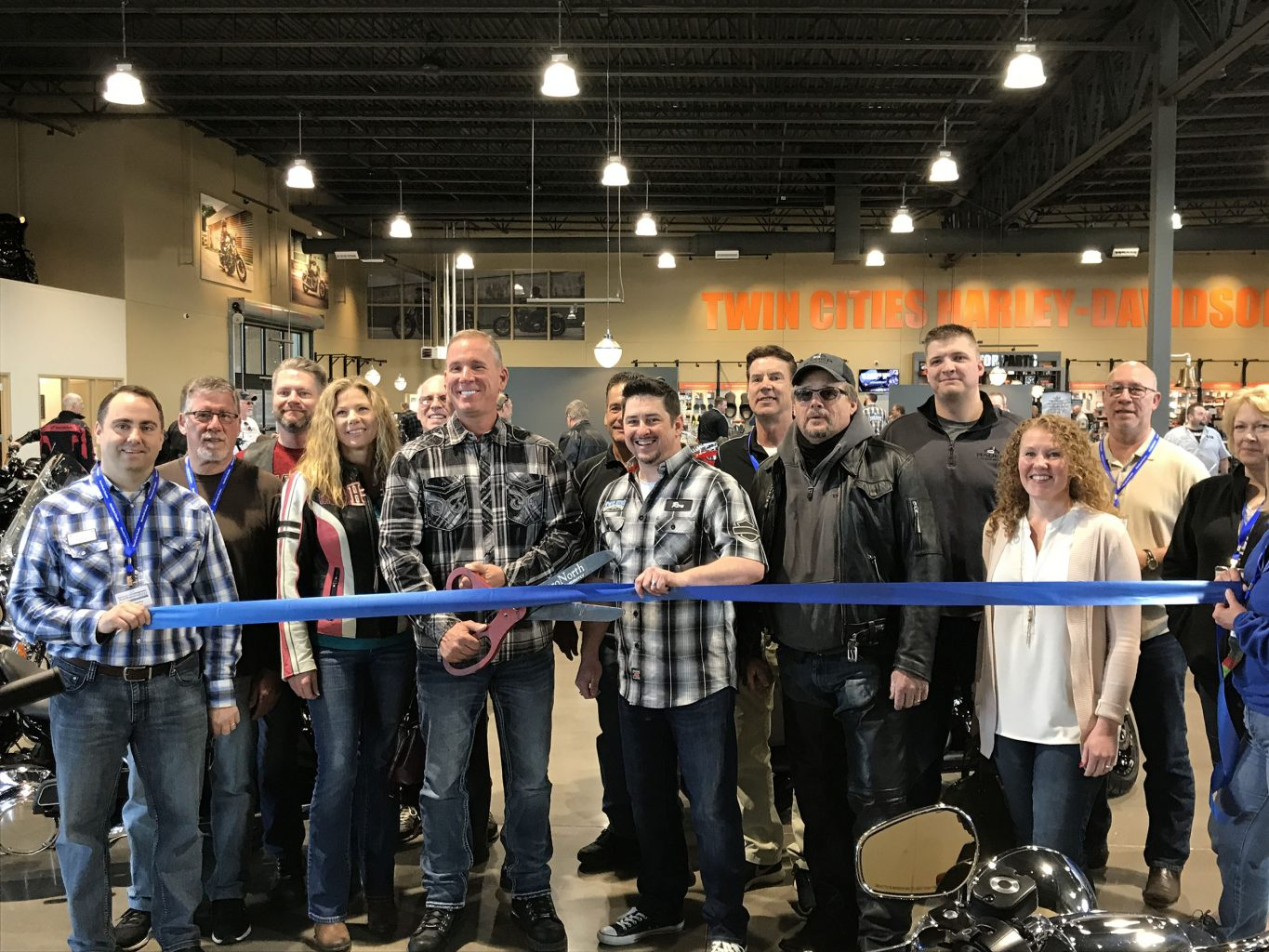 Ribbon Cutting of Harley Davidson Location